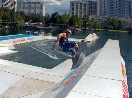 Red Bull Wake Boarding Lab