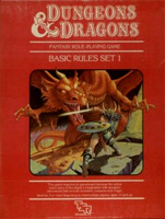 D&D Basic Set  Red box